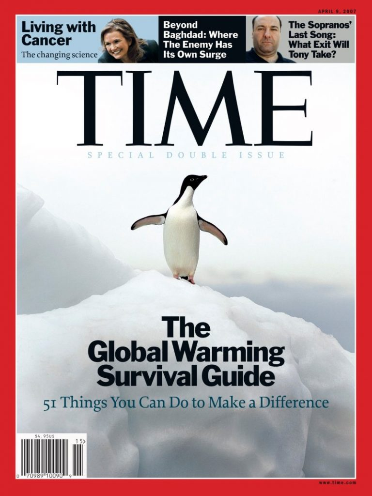 actual 2007 Time magazine cover