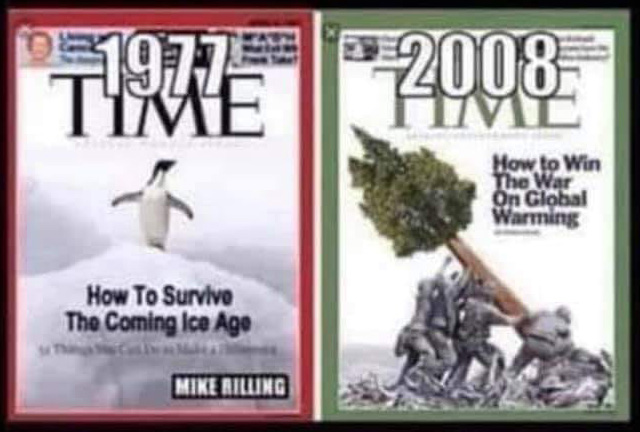 doctored image of two magazine covers